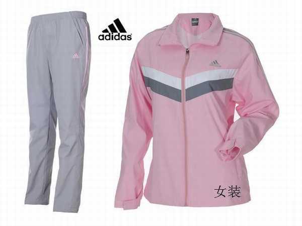 jogging adidas 3 bandes femme